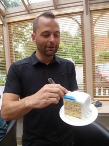 A massive slice of INASP cake