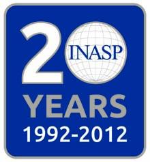 INASP 20th Anniversary Logo