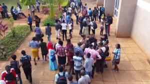 Students at Mzumbe University