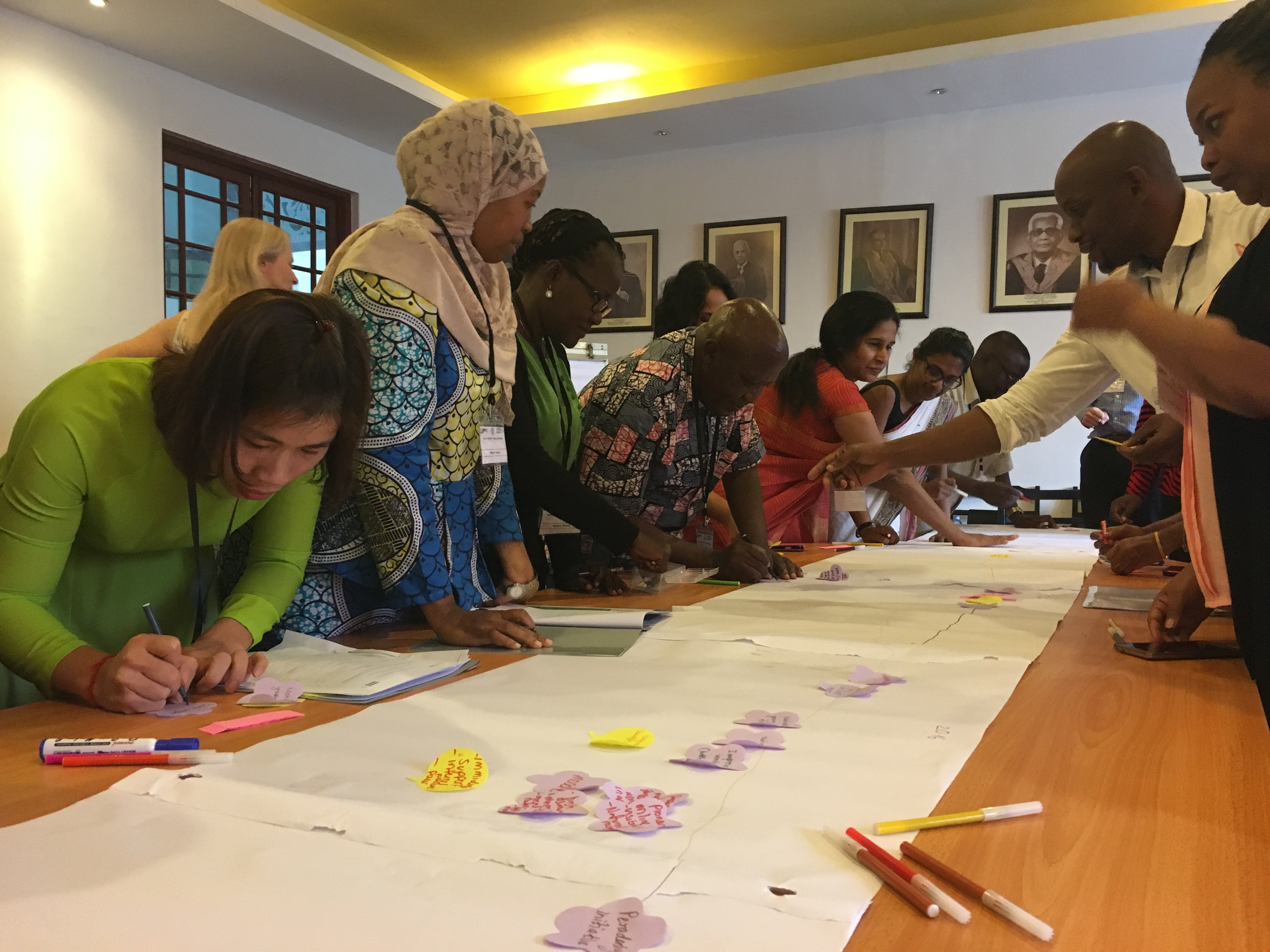 Partners from Africa and Asia share experiences of embedding research writing training in their institutions