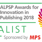 Banner showing JPPS is a finalist for the ALPSP Awards.