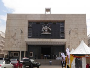 Research Week at the Parliament of Uganda in 2016.