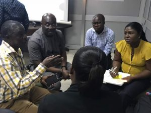 Context Matters discussions in Ghana.