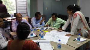 Discussions in Bangladesh.