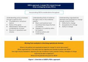SEDI approach to political economy analysis.