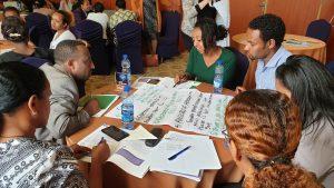 Participants at Ethiopia Gender Forum workshop.