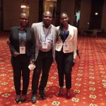 Sarah Nabachwa and others at the AGBA Conference in Turkey.